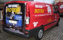 Servicefahrzeug für Rohrreinigungen