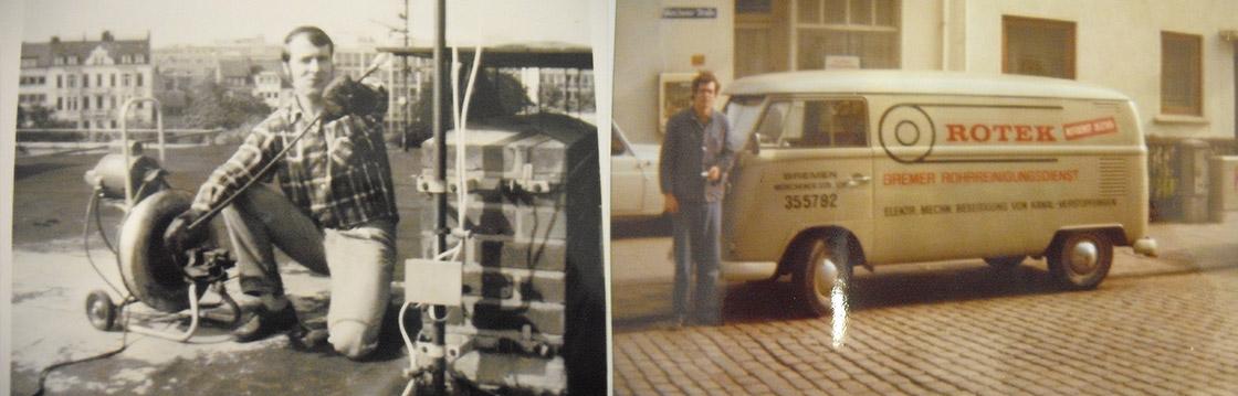 Archievbild 4 zur Historie der Rotek Rohrreinigungs GmbH
